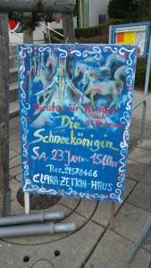 Handgemaltes Unikat. Plakatmaler in Sillenbuch.