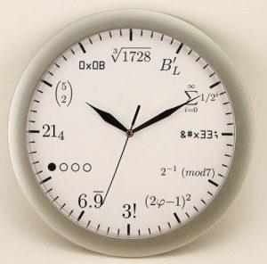 mathe-Uhr