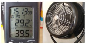 thermometer-ventilator