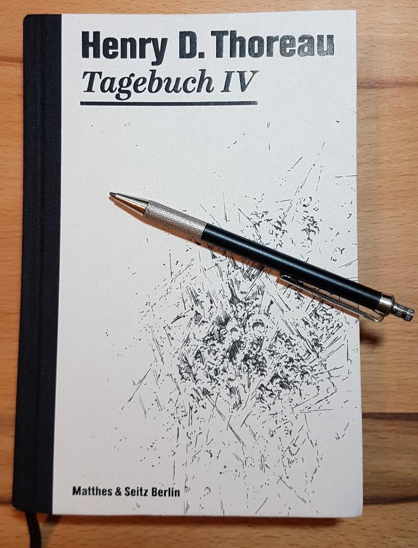 Buchcover von Tagebuch IV